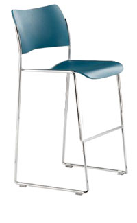 Bar Height Stacking Chairs