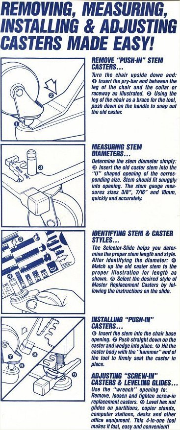 herman miller sayl chair instructions